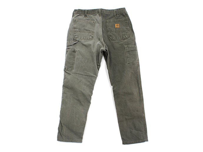 Hexico Deformer Pants - Left to Right 2-Tone Quarter Tapered Ex. U.S. Made Carhartt - Olive 02
