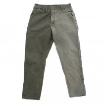 Hexico / Deformer Pants - Left to Right 2-Tone Quarter Tapered Ex. U.S. Made Carhartt - Olive