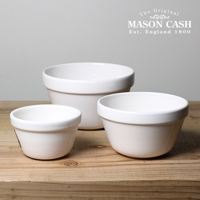 83324502 MASON CASH / White Pudding Basins メイソンキャッシュ/プディングベースン ホワイト<img class='new_mark_img2' src='//img.shop-pro.jp/img/new/icons47.gif' style='border:none;display:inline;margin:0px;padding:0px;width:auto;' /> 01