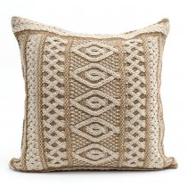 Other Brands Aran Crafts / Aran Plated Cushion Cover ニットクッションカバー - ブラウンミックス<img class='new_mark_img2' src='//img.shop-pro.jp/img/new/icons47.gif' style='border:none;display:inline;margin:0px;padding:0px;width:auto;' />