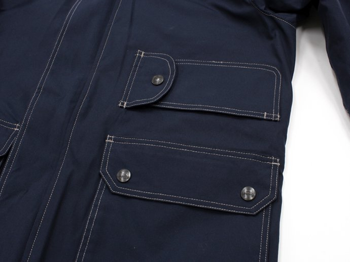 83433472 SURVIVALON(サバイバロン) / Original Modern fit Lined Jacket - Navy 02