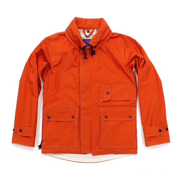 83433616 SURVIVALON(サバイバロン) / Original Modern fit Lined Jacket - Orange 01