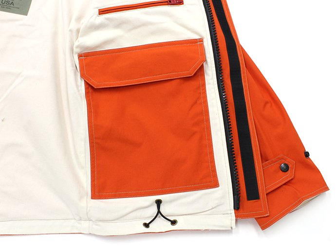 83433616 SURVIVALON(サバイバロン) / Original Modern fit Lined Jacket - Orange 02