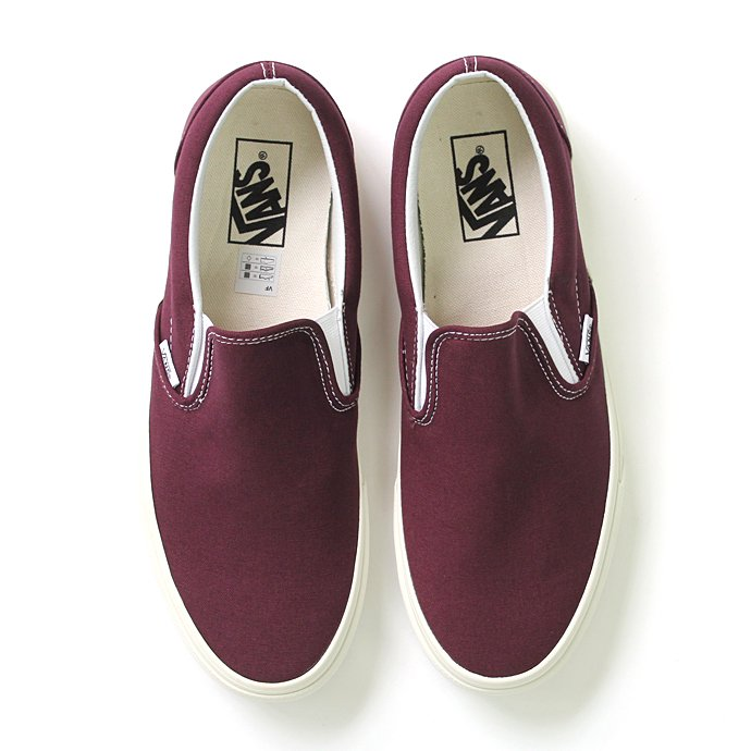 VANS Vintage Slip-On - Fig<img class='new_mark_img2' src='//img.shop-pro.jp/img/new/icons47.gif' style='border:none;display:inline;margin:0px;padding:0px;width:auto;' /> 01