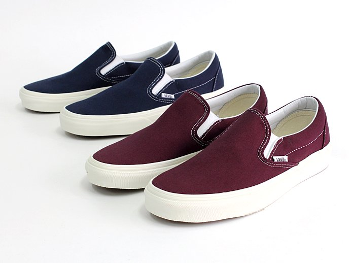 VANS Vintage Slip-On - Fig<img class='new_mark_img2' src='//img.shop-pro.jp/img/new/icons47.gif' style='border:none;display:inline;margin:0px;padding:0px;width:auto;' /> 02