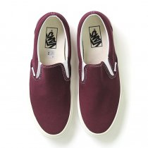 VANS Vintage Slip-On - Fig<img class='new_mark_img2' src='//img.shop-pro.jp/img/new/icons47.gif' style='border:none;display:inline;margin:0px;padding:0px;width:auto;' />