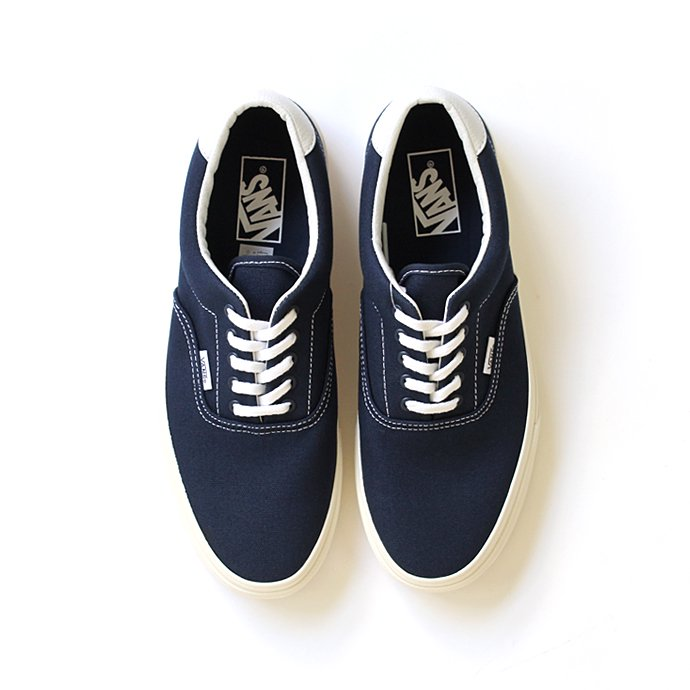 VANS 10oz. Canvas Era 59(エラ59 10オンスキャンバス ネイビー)- Dress Blues/Marshmallow<img class='new_mark_img2' src='//img.shop-pro.jp/img/new/icons47.gif' style='border:none;display:inline;margin:0px;padding:0px;width:auto;' /> 01