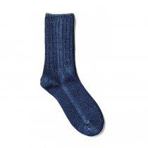 Trad Marks / Indigo Rib Socks インディゴ リブソックス