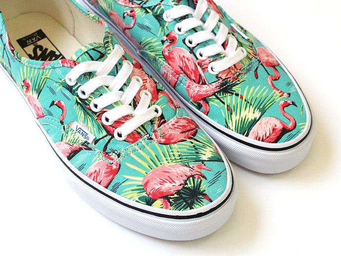 VANS Van Doren Authentic - Turquoise/Flamingo ヴァンドーレンオーセンティック フラミンゴ<img class='new_mark_img2' src='//img.shop-pro.jp/img/new/icons47.gif' style='border:none;display:inline;margin:0px;padding:0px;width:auto;' /> 02