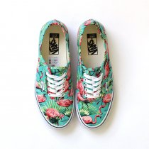 VANS Van Doren Authentic - Turquoise/Flamingo ヴァンドーレンオーセンティック フラミンゴ<img class='new_mark_img2' src='//img.shop-pro.jp/img/new/icons47.gif' style='border:none;display:inline;margin:0px;padding:0px;width:auto;' />
