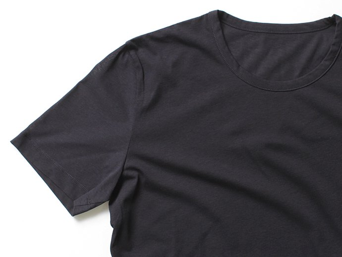 smoothday(スムースデイ) 40/1 テクノラマ弱シルケット天竺 クルーネックTシャツ - ネイビー<img class='new_mark_img2' src='//img.shop-pro.jp/img/new/icons47.gif' style='border:none;display:inline;margin:0px;padding:0px;width:auto;' /> 02