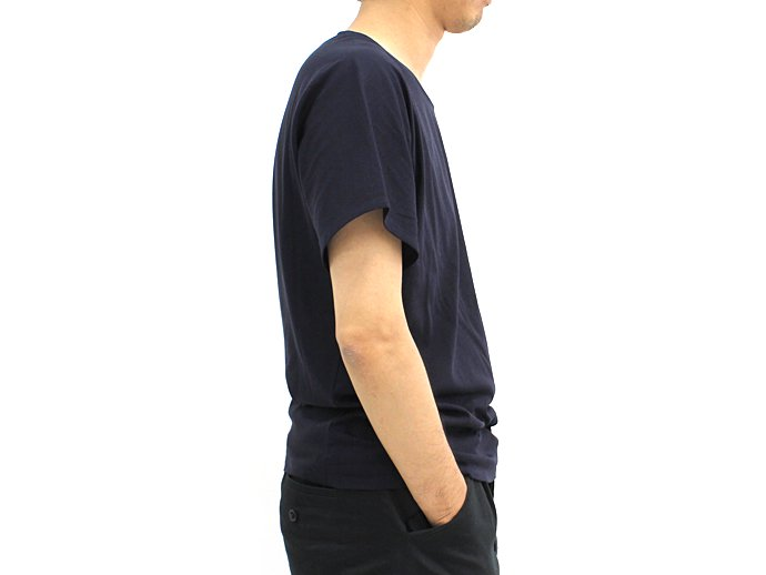 smoothday smoothday / テクノラマ ユニセックス変形Tシャツ - ネイビー 1505T012-035<img class='new_mark_img2' src='//img.shop-pro.jp/img/new/icons47.gif' style='border:none;display:inline;margin:0px;padding:0px;width:auto;' /> 02