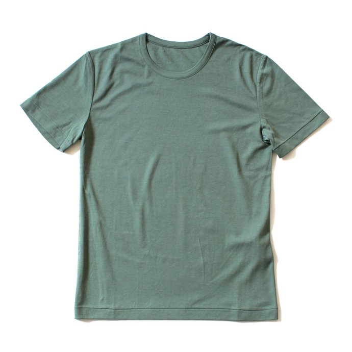 92390178 smoothday / 100/1 ディオラマスムース クルーネックTシャツ - グリーン 1507T008-040 #2<img class='new_mark_img2' src='//img.shop-pro.jp/img/new/icons47.gif' style='border:none;display:inline;margin:0px;padding:0px;width:auto;' /> 01