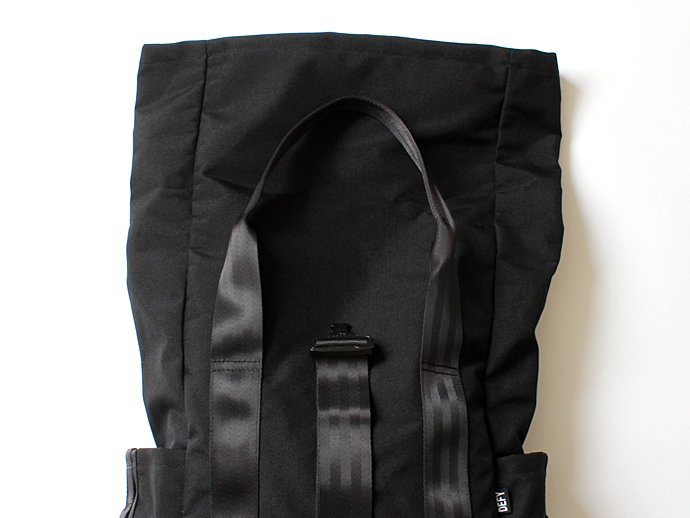 DEFY BAGS DEFY BAGS / VerBockel Rolltop Backpack - Black Cordura ロールトップバックパック コーデュラナイロン<img class='new_mark_img2' src='//img.shop-pro.jp/img/new/icons47.gif' style='border:none;display:inline;margin:0px;padding:0px;width:auto;' /> 02