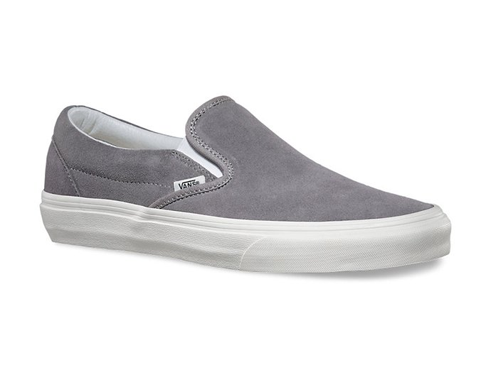 VANS Vintage Suede Slip-On - Frost Gray/Blanc<img class='new_mark_img2' src='//img.shop-pro.jp/img/new/icons47.gif' style='border:none;display:inline;margin:0px;padding:0px;width:auto;' /> 02