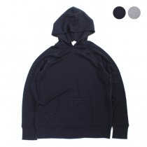 Other Brands Baxter Ratcliff / ウール ハイゲージニットパーカー L/S Hood Wool Sweater Flatlock 全2色
