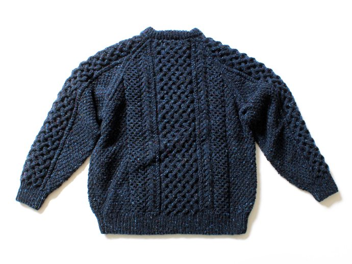 94051932 H. ROBINSON KNITTING / Hand Knitted Cable P/O ハンドニットケーブル編みプルオーバー - Royal Navy<img class='new_mark_img2' src='//img.shop-pro.jp/img/new/icons47.gif' style='border:none;display:inline;margin:0px;padding:0px;width:auto;' /> 02