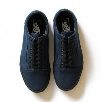 VANS / Black Sole Old Skool - Dress Blues