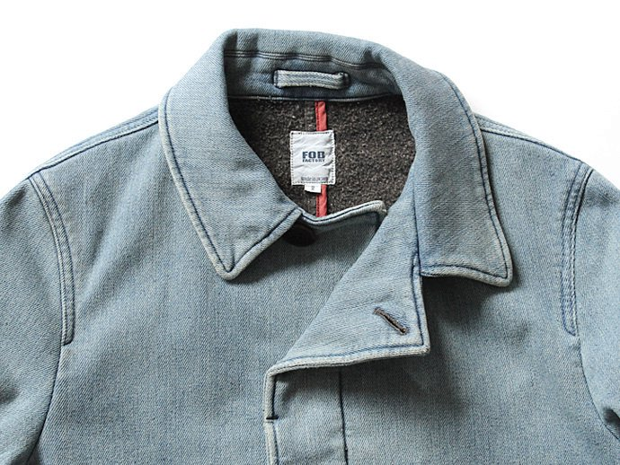 Other Brands FOB FACTORY / Denim Trench Coat デニム ステンカラーコート F2326<img class='new_mark_img2' src='//img.shop-pro.jp/img/new/icons47.gif' style='border:none;display:inline;margin:0px;padding:0px;width:auto;' /> 02