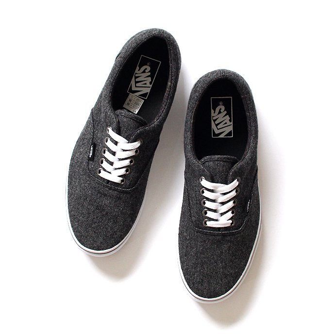 VANS Tweed Era - Black/True White ツイード エラ<img class='new_mark_img2' src='//img.shop-pro.jp/img/new/icons47.gif' style='border:none;display:inline;margin:0px;padding:0px;width:auto;' /> 01