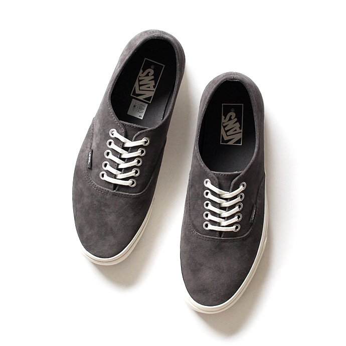 VANS Scotchgard Authentic Decon - Pewter/Blanc de Blanc<img class='new_mark_img2' src='//img.shop-pro.jp/img/new/icons47.gif' style='border:none;display:inline;margin:0px;padding:0px;width:auto;' /> 01