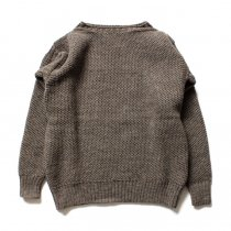 LE TRICOT DE LA MER / GUERNSEY - Mocha ル・トリコ・ドゥ・ラ・メール ガンジーセーター モカ<img class='new_mark_img2' src='//img.shop-pro.jp/img/new/icons47.gif' style='border:none;display:inline;margin:0px;padding:0px;width:auto;' />