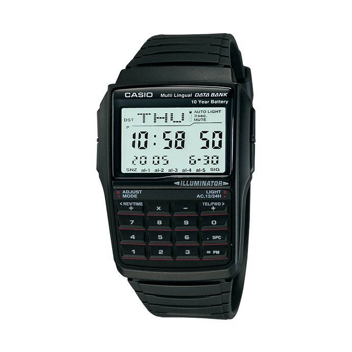 Other Brands CASIO / Multi-Lingual DATA BANK データバンク ウォッチ 海外モデル DBC-32-1A 02