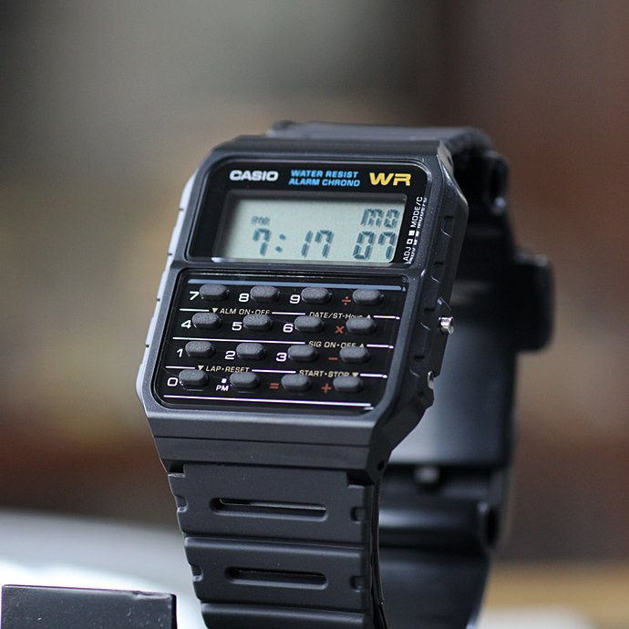 96952029 CASIO / CA53W-1 カリキュレーター・ウォッチ 海外モデル<img class='new_mark_img2' src='//img.shop-pro.jp/img/new/icons47.gif' style='border:none;display:inline;margin:0px;padding:0px;width:auto;' /> 02