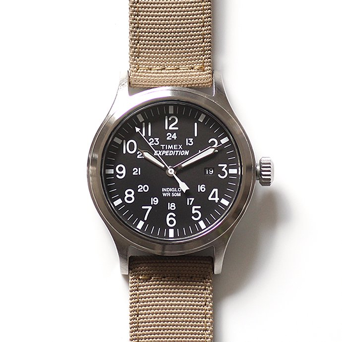 TIMEX TIMEX / Expedition Scout Metal エクスペディション スカウト メタル サンド T49962<img class='new_mark_img2' src='//img.shop-pro.jp/img/new/icons47.gif' style='border:none;display:inline;margin:0px;padding:0px;width:auto;' /> 01