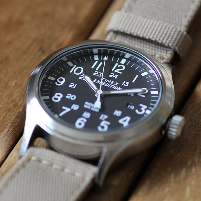 TIMEX TIMEX / Expedition Scout Metal エクスペディション スカウト メタル サンド T49962<img class='new_mark_img2' src='//img.shop-pro.jp/img/new/icons47.gif' style='border:none;display:inline;margin:0px;padding:0px;width:auto;' /> 02