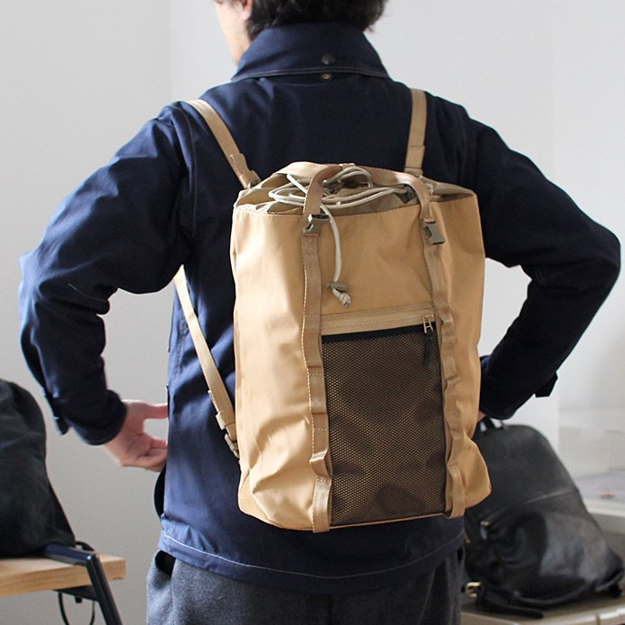 CRAFTED GOODS PATROL 3Wayバッグ - Tan 02