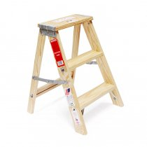 Michigan Ladder Company / Wood Step Ladder ウッドステップラダー - Size 2<img class='new_mark_img2' src='//img.shop-pro.jp/img/new/icons47.gif' style='border:none;display:inline;margin:0px;padding:0px;width:auto;' />