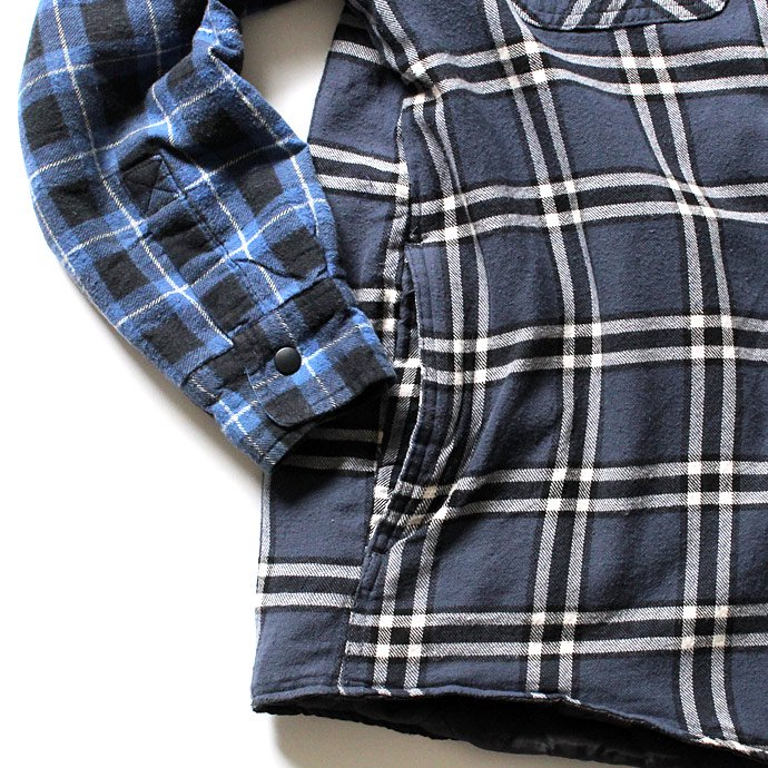 99127639 Hexico / Deformer Quilt Lined Flannel Shirt リメイクキルティングネルシャツ 03 L<img class='new_mark_img2' src='//img.shop-pro.jp/img/new/icons47.gif' style='border:none;display:inline;margin:0px;padding:0px;width:auto;' /> 02