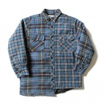 Hexico Hexico / Deformer Quilt Lined Flannel Shirt リメイクキルティングネルシャツ 05 M