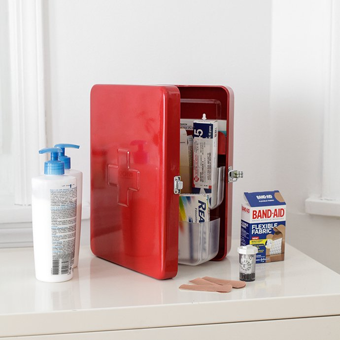 Other Brands Large First Aid Cabinet - White ラージファーストエイドキャビネット ホワイト<img class='new_mark_img2' src='//img.shop-pro.jp/img/new/icons47.gif' style='border:none;display:inline;margin:0px;padding:0px;width:auto;' /> 02