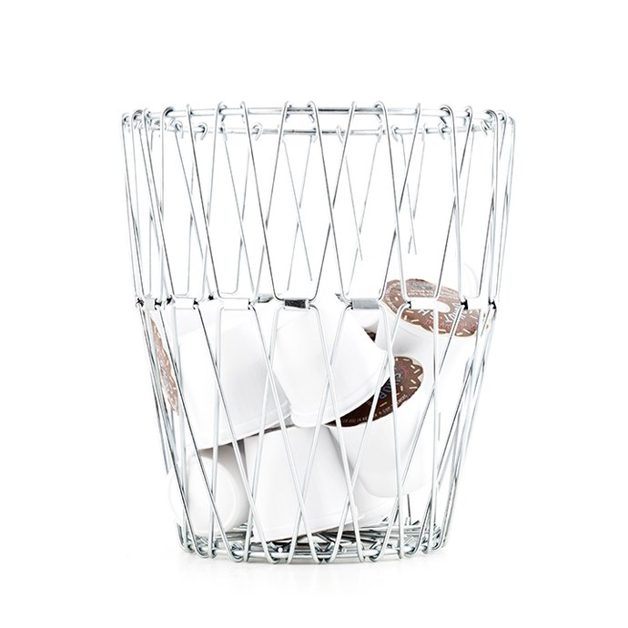 Other Brands Small Folding Wire Basket - Silver スモールフォルディングワイヤーバスケット シルバー<img class='new_mark_img2' src='//img.shop-pro.jp/img/new/icons47.gif' style='border:none;display:inline;margin:0px;padding:0px;width:auto;' /> 02