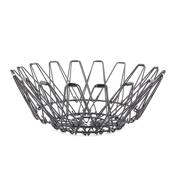 Other Brands Small Folding Wire Basket - Black スモールフォルディングワイヤーバスケット ブラック<img class='new_mark_img2' src='//img.shop-pro.jp/img/new/icons47.gif' style='border:none;display:inline;margin:0px;padding:0px;width:auto;' /> 02