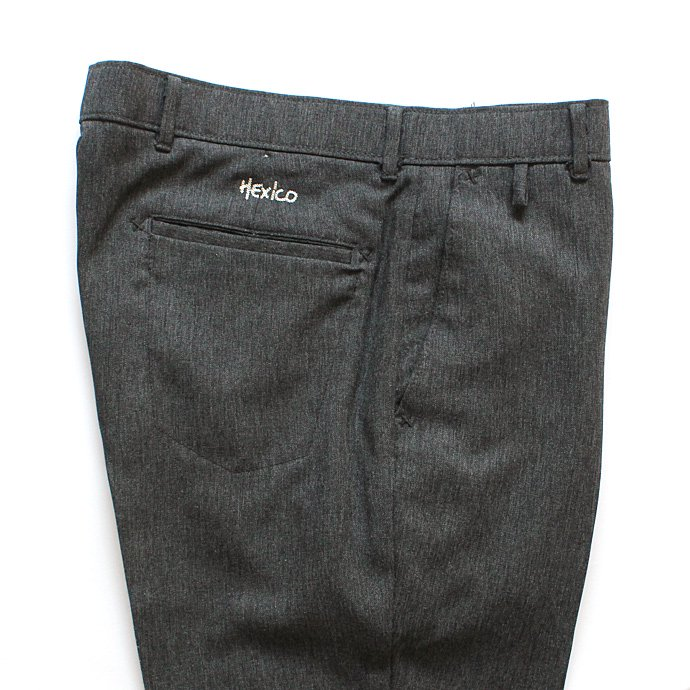 Hexico Deformer Pants Quarter Single Slim Ex. U.S. Action Slacks - Charcoal リメイク アクションスラックス チャコールグレー<img class='new_mark_img2' src='//img.shop-pro.jp/img/new/icons47.gif' style='border:none;display:inline;margin:0px;padding:0px;width:auto;' /> 02