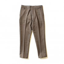 Hexico Deformer Pants Quarter Single Slim Ex. U.S. Action Slacks - Brown リメイク アクションスラックス ブラウン