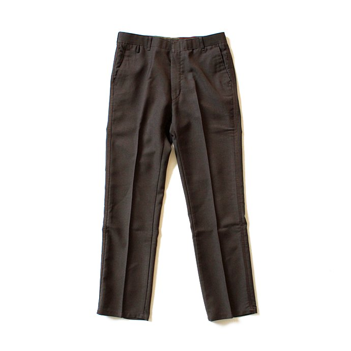 Hexico Deformer Pants Line Quarter Slim Ex. U.S. Action Slacks - Brown リメイク アクションスラックス ライン入り ブラウン<img class='new_mark_img2' src='//img.shop-pro.jp/img/new/icons47.gif' style='border:none;display:inline;margin:0px;padding:0px;width:auto;' /> 01