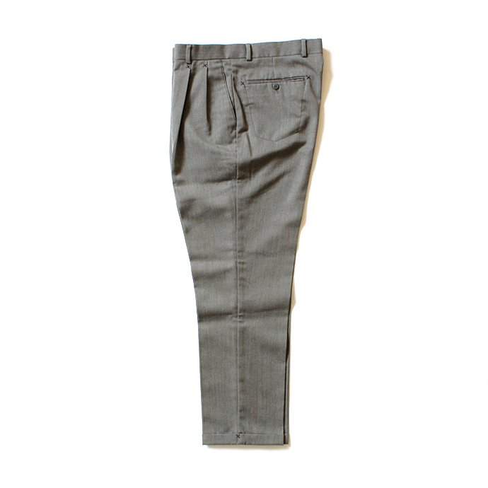 Hexico Deformer Pants 2-Tucks Quarter Tapered Ex. U.S. Slacks - Grey リメイク 2タックスラックス グレー<img class='new_mark_img2' src='//img.shop-pro.jp/img/new/icons47.gif' style='border:none;display:inline;margin:0px;padding:0px;width:auto;' /> 02