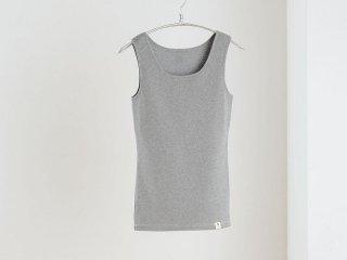 マアルタンクトップ(パッドポケット付き) 杢グレー