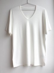 <img class='new_mark_img1' src='https://img.shop-pro.jp/img/new/icons13.gif' style='border:none;display:inline;margin:0px;padding:0px;width:auto;' />竹布 Men's半袖VネックTシャツ