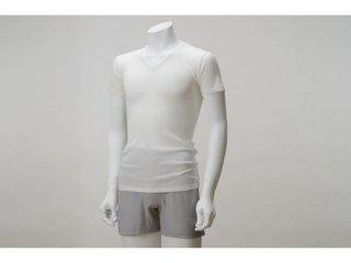 <img class='new_mark_img1' src='https://img.shop-pro.jp/img/new/icons50.gif' style='border:none;display:inline;margin:0px;padding:0px;width:auto;' />【完売】竹のテレコVネックTシャツ Men's