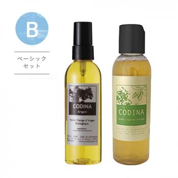 【Bセット】洗顔とオイルの「美肌の基本セット」フェイシャルサヴォンAL&アルガンオイル100mL