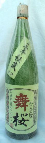 舞桜 辛口純米(純米原酒)17-1800ml