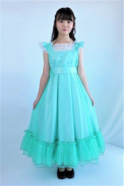 フリフリゴージャスグリーンドレス