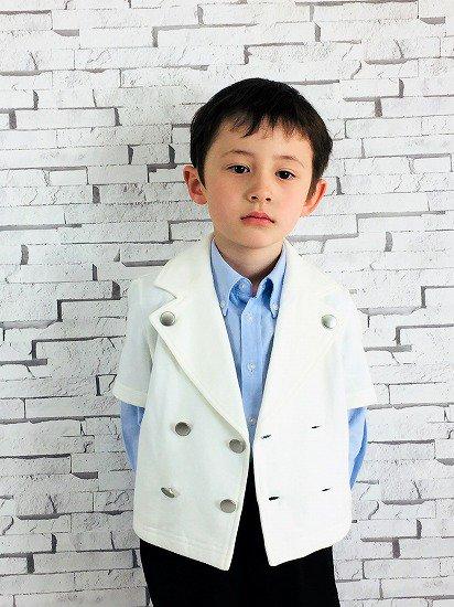 【レンタル】No438 ラフなフォーマル服3点セット100cm
