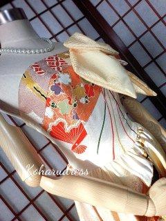 セミオーダー/プリンセスドレス(ホルターストラップ、リボンつき)仮縫い込み