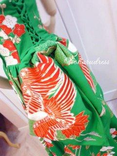 セミオーダー/ハートカットプリンセスドレス(ホルターストラップ、腰リボンつき)仮縫い込み